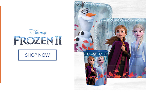 Frozen Party Supplies